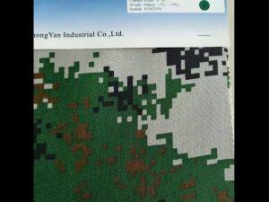 Tessuto per zaino balistico ad alta resistenza in nylon cordura 1000D