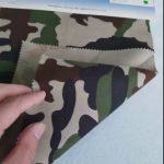 Tessuto mimetico in twill di cotone 80/20 con motivo mimetico per divisa militare