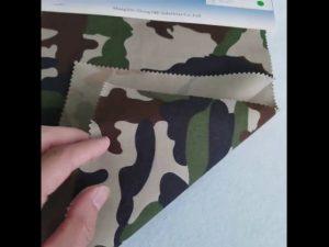 Tessuto mimetico in twill di cotone 8020 con motivo mimetico per divisa militare