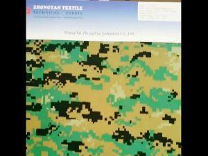 Tessuto mimetico woodland digitale stampato 1000d nylon simile tessuto oxford impermeabile cordura