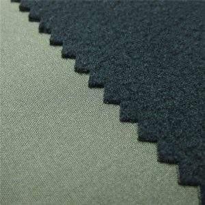 Tessuto softshell a 3 strati in TPU traspirante e tessuto in pile