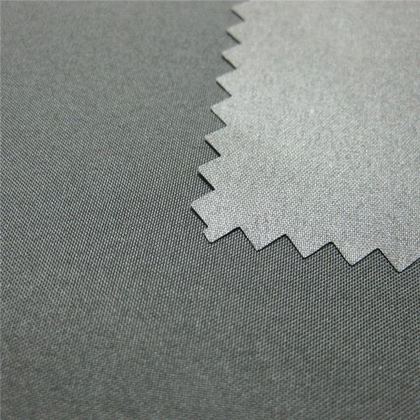Tessuto esterno impermeabile rivestito in piumino 100% poliestere pongee