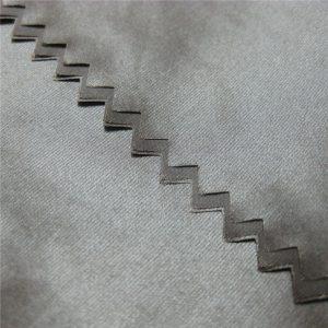 Tessuto antiscivolo in PU 100% nylon per piumino / borsa / ombrello