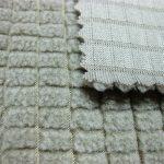 Tessuto in pile poliestere / tessuto traspirante super resistente in poly twill per tute da pista