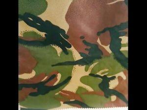 tessuto militare impermeabile oxford ripstop nylon oxford stampato camouflage