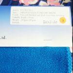 tessuto 100% poliestere anti-statico invernale per la fabbrica della Cina