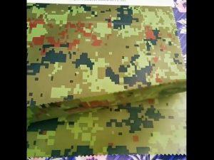 Cina produttore all'ingrosso tessuto mimetico geotessile antipioggia mimetico per esterno